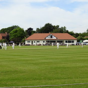 Attenborough Cricket Club pitch
