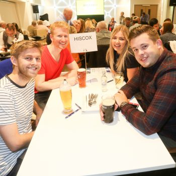 Russell Scanlan Annual Charity Quiz 2017 Team Hiscox Picture by: Shawn Ryan