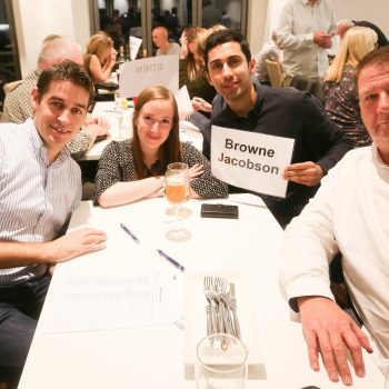 Russell Scanlan Annual Charity Quiz 2017 Team Brown Jacobson Picture by: Shawn Ryan