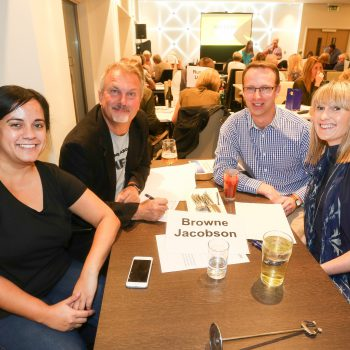 Russell Scanlan Annual Charity Quiz 2017 Team Browne Jocobson Picture by: Shawn Ryan